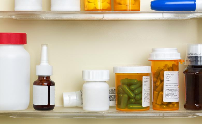 Medications on a Shelf